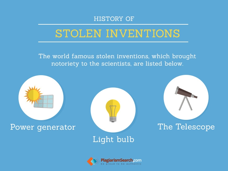 World's Famous Stolen Inventions