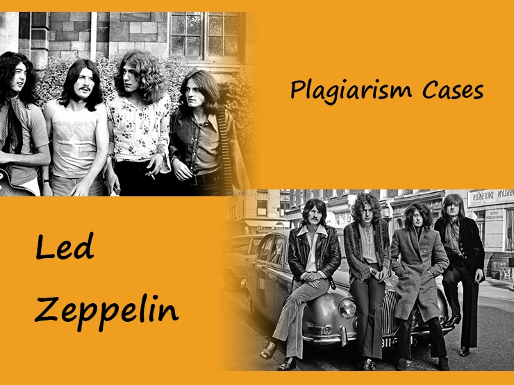 Led Zeppelin Plagiarism Cases