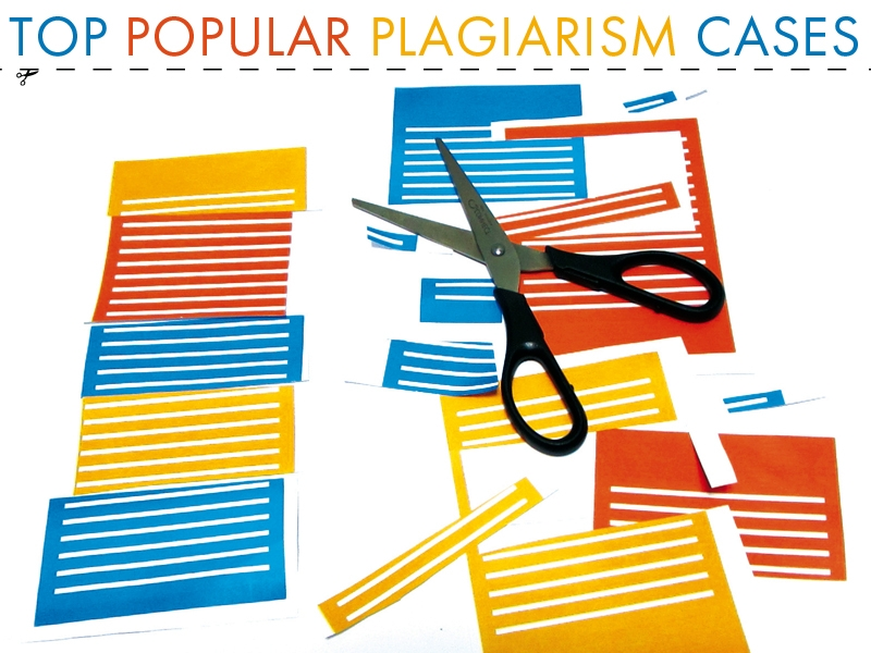 Stolen Ideas. Top Plagiarism Cases