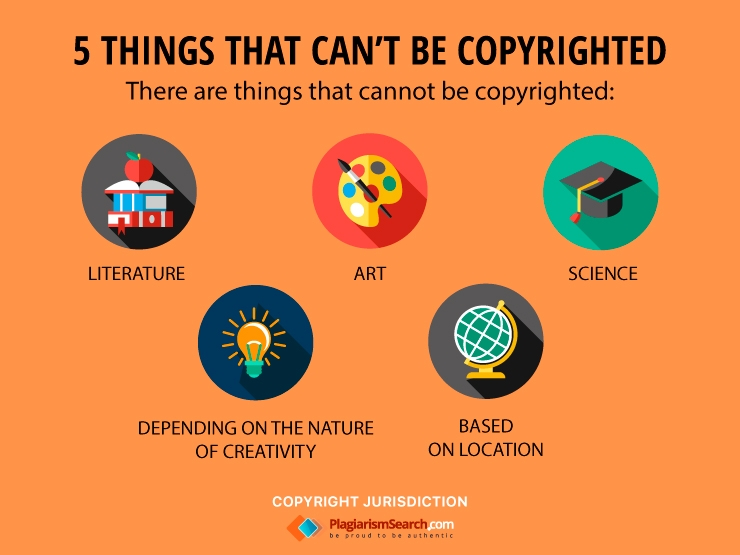 5 Things That Can't Be Copyrighted