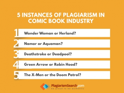 5 Instances of Plagiarism in Comic Book Industry