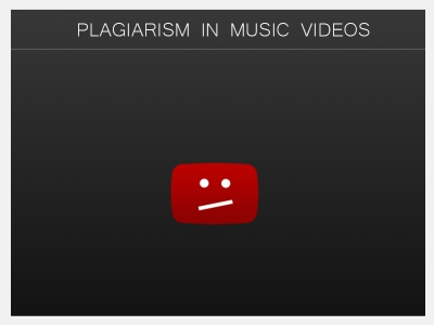 Plagiarism in Music Videos
